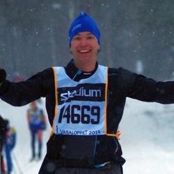 Skiing 90 km - Henrik Olsson (14668)