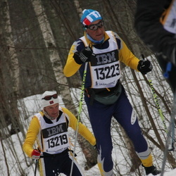 Skiing 90 km - Donato Charrance (13219), Alfredo Grappein (13223)