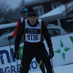 Skiing 90 km - Arne Bergman (9115)