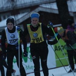 Skiing 90 km - Fredrik Lunde (11184)