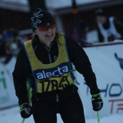Skiing 90 km - Åsa Asplund (17849)