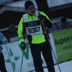 Skiing 90 km - Christer Beskow (10307)