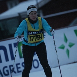 Skiing 90 km - Åsa Wilén (17784)
