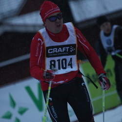 Skiing 90 km - Anders Larsson (8104)
