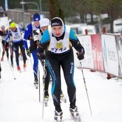 Skiing 90 km - Alexandre Burri (7742)