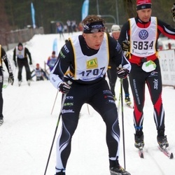 Skiing 90 km - Daniel Wigren (4707), Henrik Nordholm (5834)