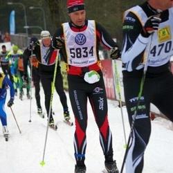 Skiing 90 km - Henrik Nordholm (5834)