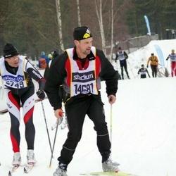 Skiing 90 km - Carlo Cattaruzza Dorigo (5749), Weine Persson (14681)