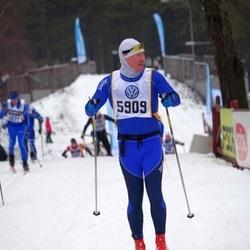 Skiing 90 km - Anders Svensson (5909)