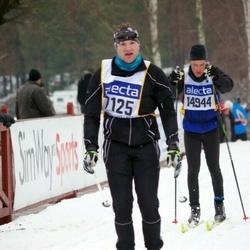 Skiing 90 km - Jens Vörman (7125), Carl Dahlberg (14944)