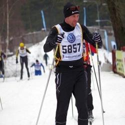 Skiing 90 km - Daniel Engström (5857)