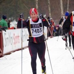 Skiing 90 km - Christer Kannisto (7403)