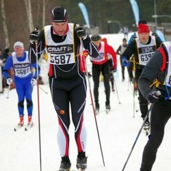 Skiing 90 km - Daniel Larsson (5587)