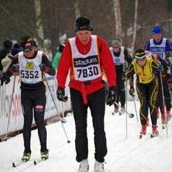 Skiing 90 km - Mats Rönnblad (5352), Erik Reinertsen (7830)