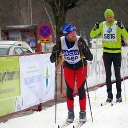 Skiing 90 km - Thomas Käll (5816), Christian Reimers (6960)