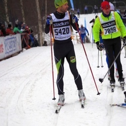 Skiing 90 km - Jonas Hasslöf (5420), Anders Johnson (7898)