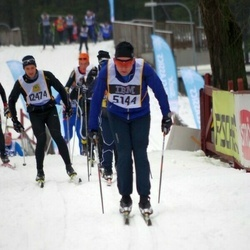 Skiing 90 km - Åke Nyström (5144)