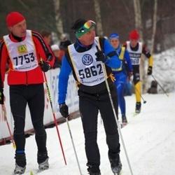 Skiing 90 km - Hillar Irves (5862), Steffen Seidel (7753)
