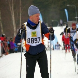 Skiing 90 km - Carl Johnzén (8897)