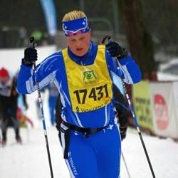 Skiing 90 km - Jennie Karlsson (17431)