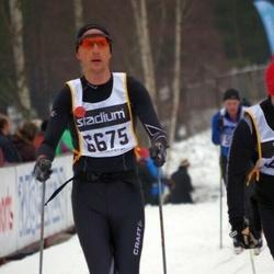 Skiing 90 km - Dean Mcgowan (6675)