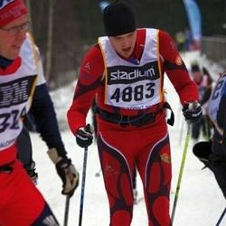 Skiing 90 km - Adam Näse (4883)