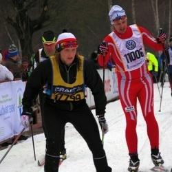 Skiing 90 km - Daniel Arvidson (11006), Åsa Franzén (17799)