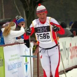 Skiing 90 km - Christer Corneliusson (7586)