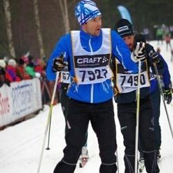 Skiing 90 km - Christian Bergmark (7927)