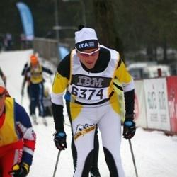 Skiing 90 km - Andrea Bertolo (6374)