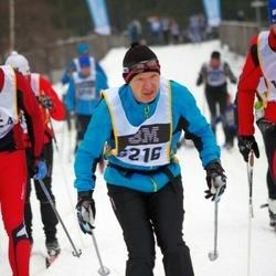Skiing 90 km - Arne Westerlund (6216)
