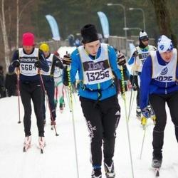Skiing 90 km - Christian Bergqvist (6684), Petter Olofsson (13258)