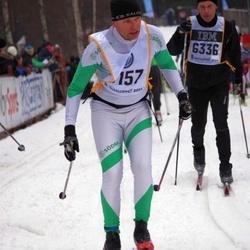 Skiing 90 km - Åke Larsson (6157)
