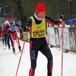 Skiing 90 km - Agneta Adriansson (17522)