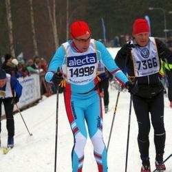 Skiing 90 km - Jörgen Petersson (7366), Jean Leyder (14998)