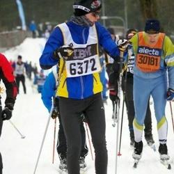Skiing 90 km - Elias Lennartsson (6372), Håkan Mossberg (30181)