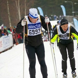 Skiing 90 km - Daniel Lindberg (6993)