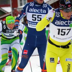 Skiing 90 km - Stanislav Rezac (6), Andreas Nygaard (55), Eldar Rönning (157)