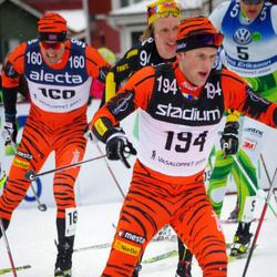 Skiing 90 km - Jens Eriksson (5), Kjetil Hagtvedt Dammen (160), Espen Udjus Frorud (194)