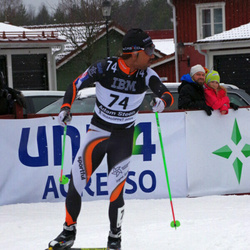 Skiing 90 km - Adam Steen (74)