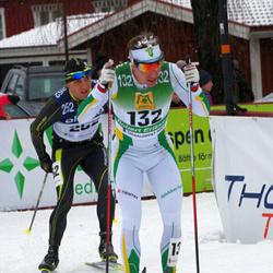 Skiing 90 km - Robert Eriksson (132), Daniel Slechta (252)