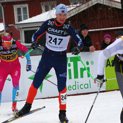 Skiing 90 km - David Støre (247), Annika Löfström (509)