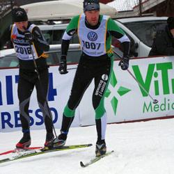 Skiing 90 km - Oskar Kanmert-Gustafsson (1007), Fredrik Öhrner (2018)