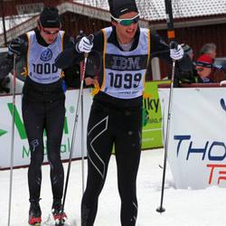 Skiing 90 km - Christoffer Eskilsson (1000), Albin Andersson (1099)