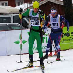 Skiing 90 km - Peter Jellvert (1011), Dennis Lindberg (3680)