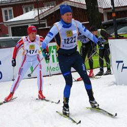 Skiing 90 km - Henrik Wallin (1222), Stian Grann (1474)
