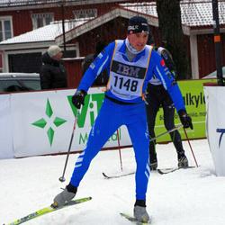 Skiing 90 km - Jean-Sebastien Gresard (1148)