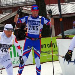 Skiing 90 km - Fredrik Ström (2105)