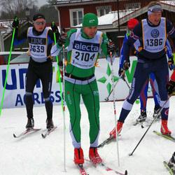 Skiing 90 km - Frank Kiereck (1386), Henrik Danielsson (2104)