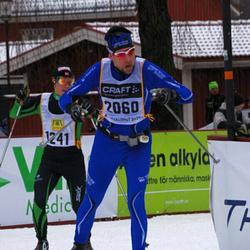 Skiing 90 km - Espen Waage Skjeflo (1241), Markus Knutgård (2060)